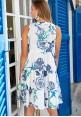 Хлопковое белое платье AnastaSea
