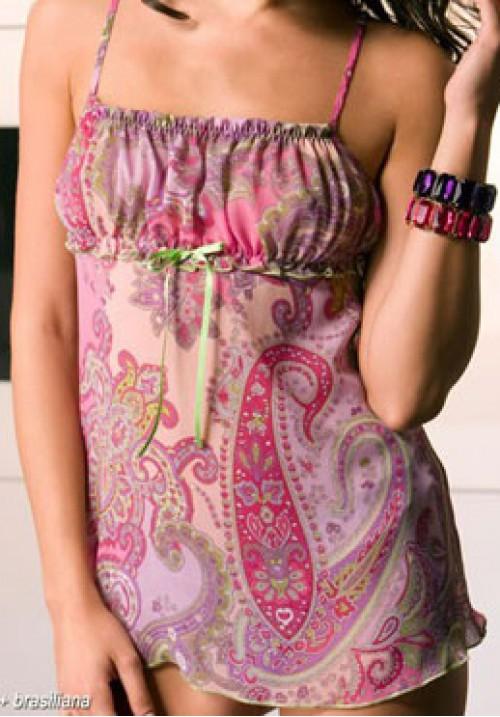 Одежда для дома: платье и трусики бразилиана ANDRA