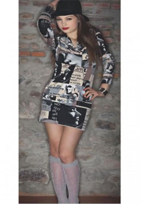 Трикотажное платье Monella