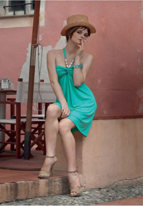 Трикотажное платье Monella 4840