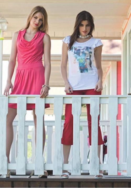 Трикотажная блуза Monella 4935