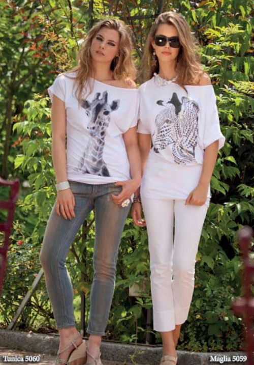 Трикотажная блуза Monella 5059