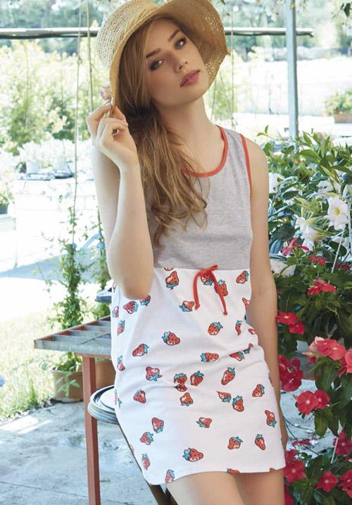 Домашнее платье ANDRA