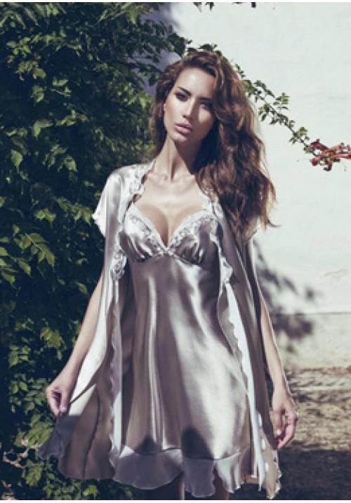 Комплект: Халат с сорочкой Andra