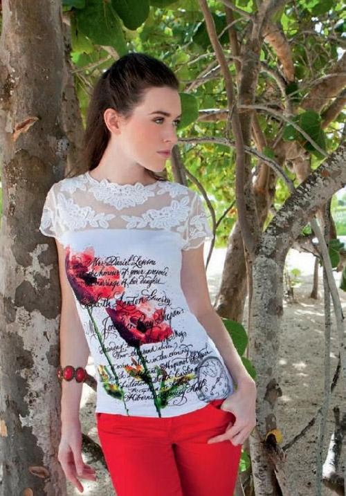 Блуза LEO&UGO TSJ515