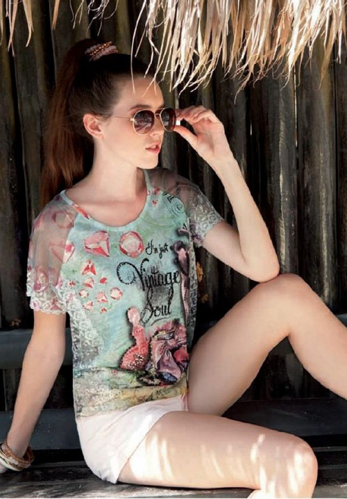 Блуза LEO&UGO TSS805