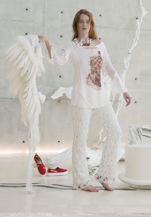 Блуза Elisa Cavaletti 175072102