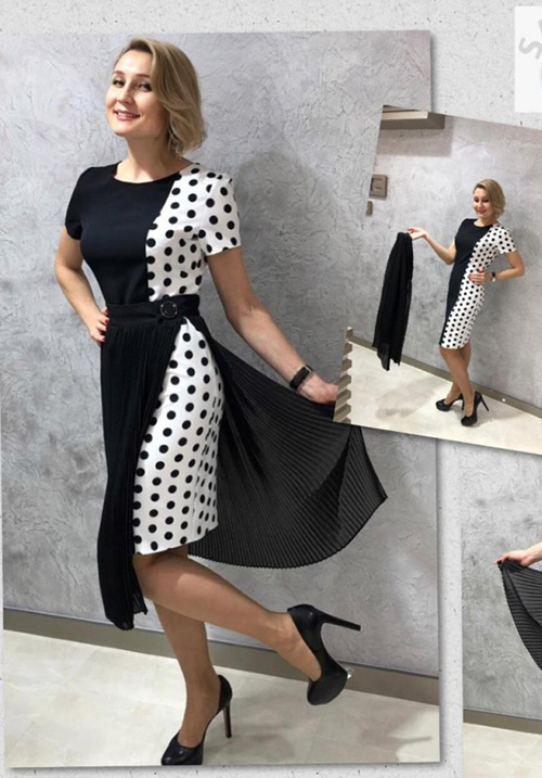 Комплект (платье с юбкой) Silkim Y417-66089