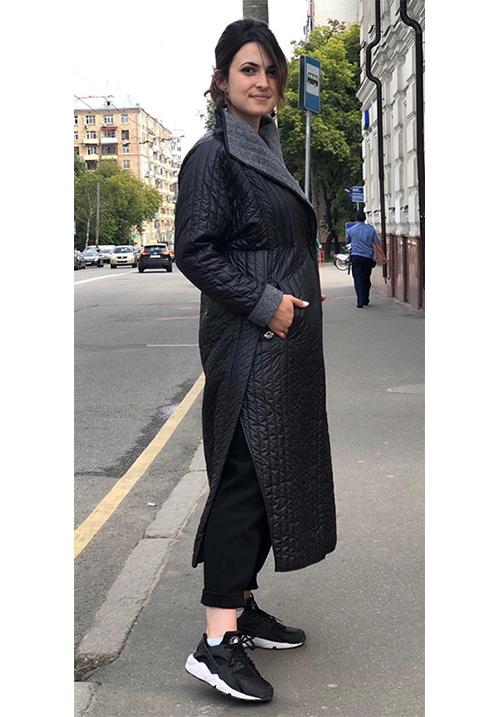 Пальто-пуховик двусторонний Marco Moretti A4025