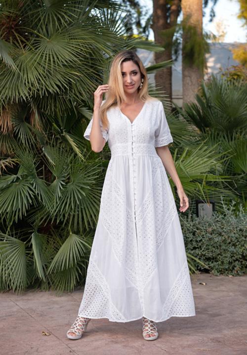 Хлопковое легкое платье Fresh Cotton