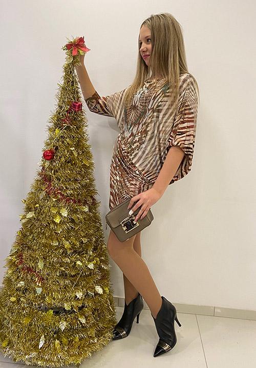 Платье S-twelve D8526-2