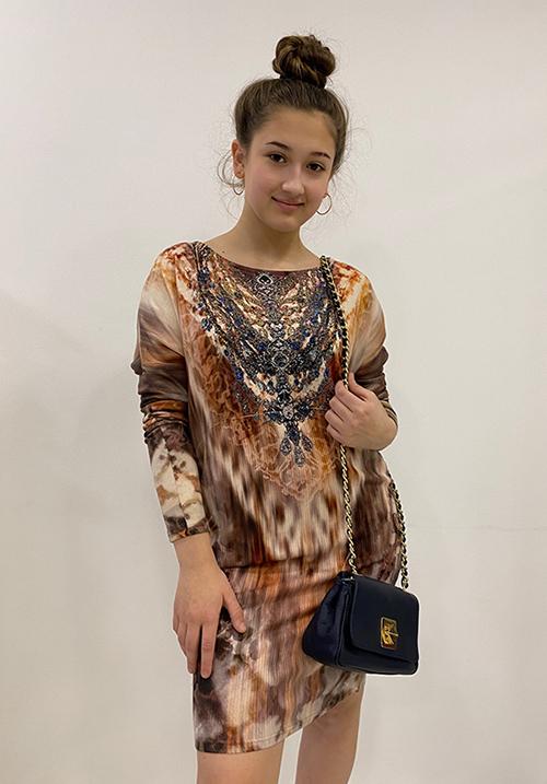 Платье S-twelve D8641-3