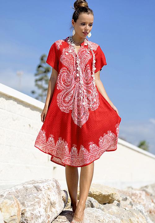 Платье яркое Indiano