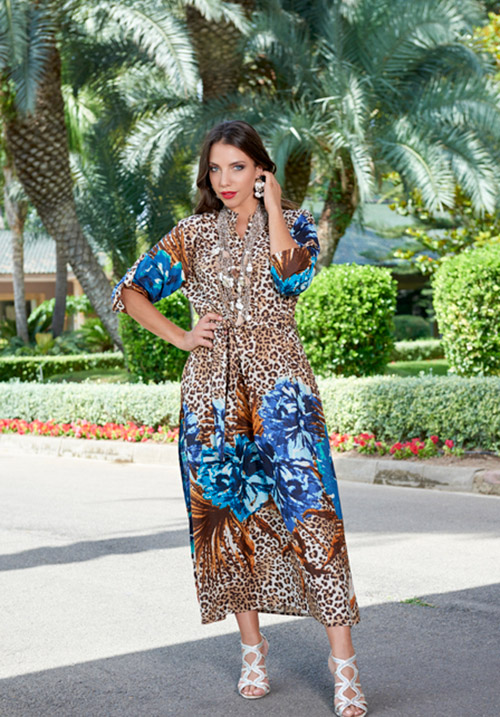 Пляжное платье Indiano 2528