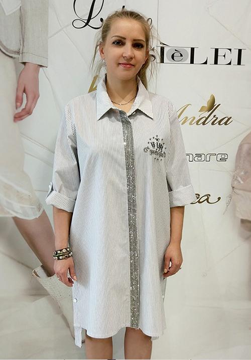 Рубашка-туника Miss Marisis 8171
