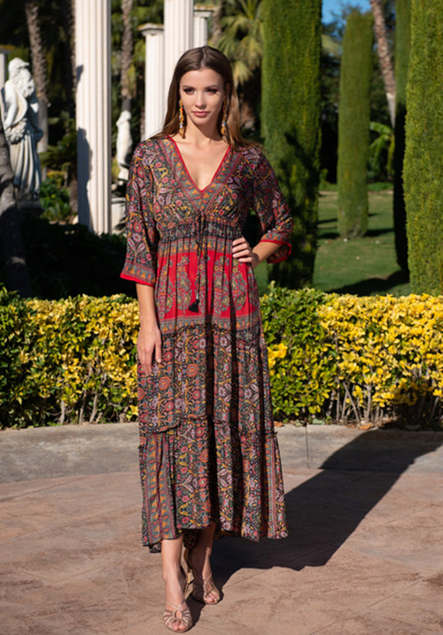 Шелковое платье Fresh Cotton